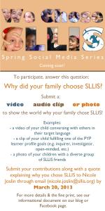 We Chose SLLIS FINAL
