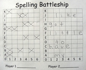 Play battleship with words! Check out more fun pins on our Fun and Games pinboard!