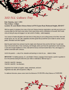 FCC Culture Day