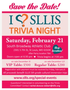 I Love SLLIS Trivia Night